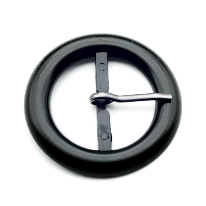 Пряжка пластмассовая 58020 ТК 4см (Черный)