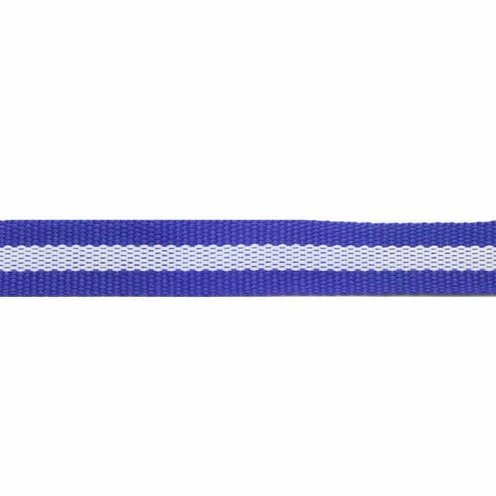 Лента декоративная синтетическая 03612 (1,2см) (Васильковый) (45,7м)