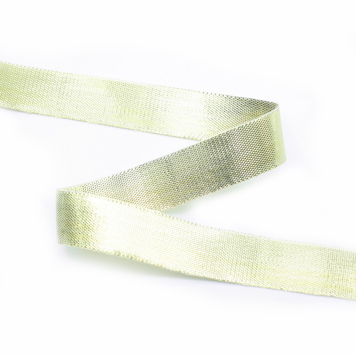 Лента люрекс. 04315 цв.Золото (1,5см) (45,7м)