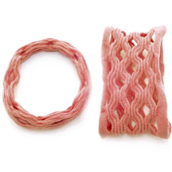 Резинка для волос 038.1 Т-2 цв.1 (нов)