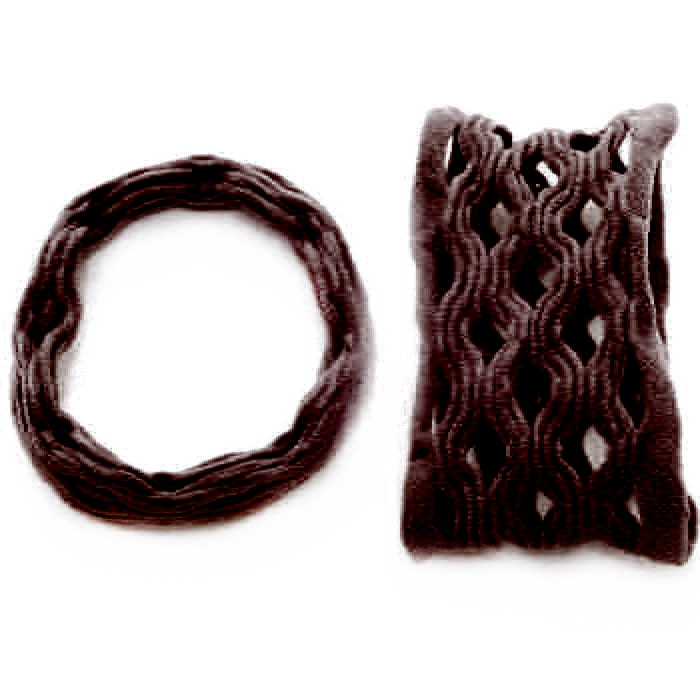 Резинка для волос 038.1 Т-2 цв.10 (нов)