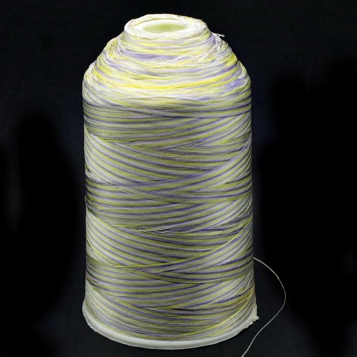 Нить швейная меланж №120 (400гр) 100% полиэстер