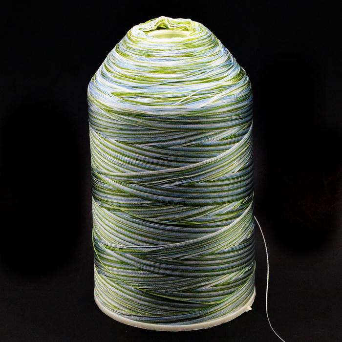 Нить швейная меланж №202 (400гр) 100% полиэстер