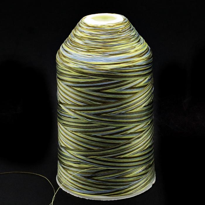 Нить швейная меланж №203 (400гр) 100% полиэстер