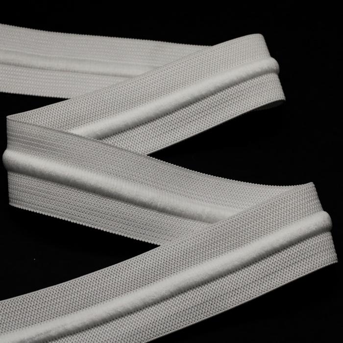 Резинка со шнуром 4см Белый (32,9м)