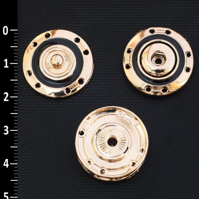 Кнопка пришивная металлическая 20мм 1732 (G)