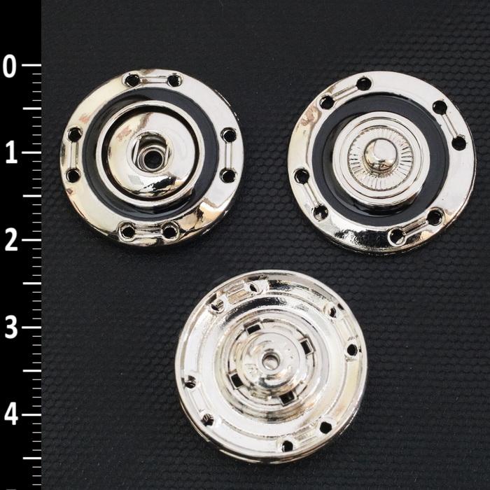 Кнопка пришивная металлическая 20мм 1732 (N)