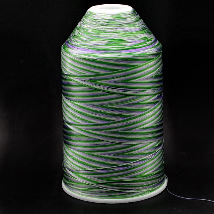 Нить швейная меланж №319 100% полиэстер