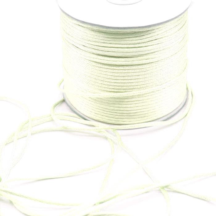 Шнур плетеный 3мм Молочный (100м)