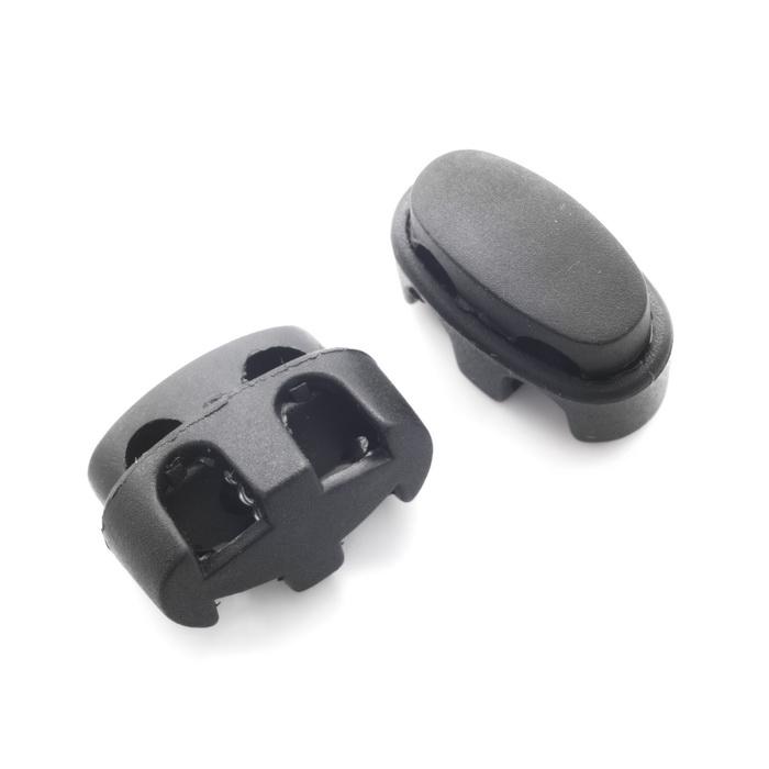 0828 Фиксатор пластиковый для шнура (24х16) 0,07 2400072170010