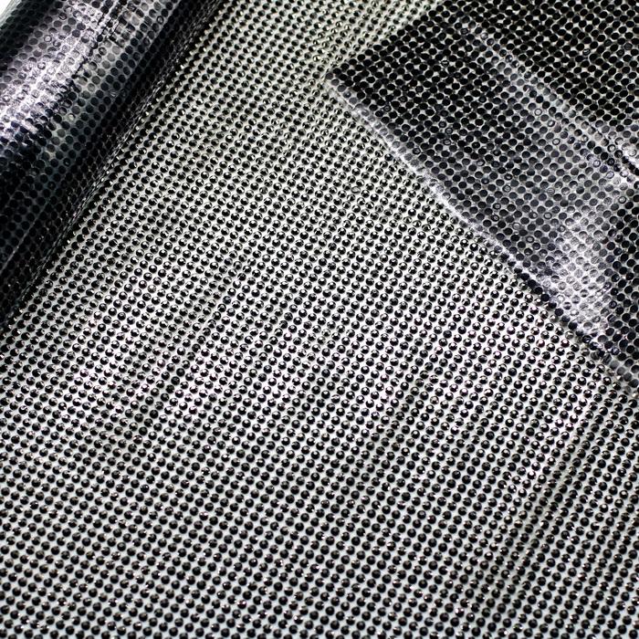 101075.40 Стразы на листах (115см43см) Хематит