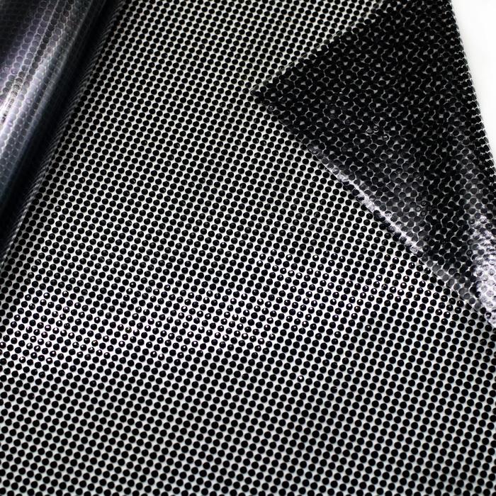 101075.40 Стразы на листах (115см43см) Чёрный