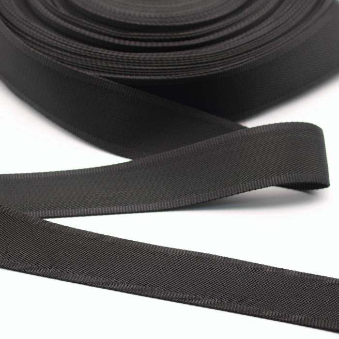 Лента ременная 38мм Черный